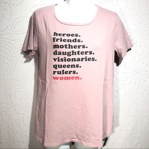 Old Navy T-Shirt Women Power Feminist Female Queen